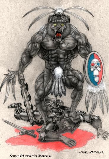 Guerrero Azteca Vencedor